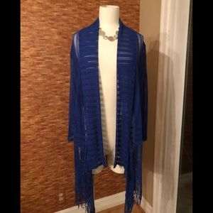 Size 2 Chico Bright Blue cardigan